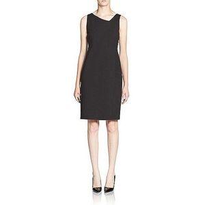 Eileen Fisher SW 14 silk lined jersey dress